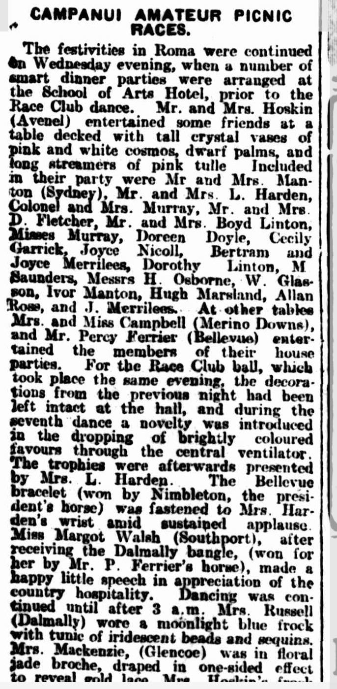 The Brisbane Courier. Friday April 20, 1923. Image courtesy Trove
